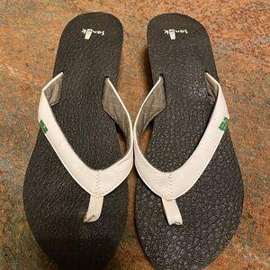 Sanuk Wedge flip flop